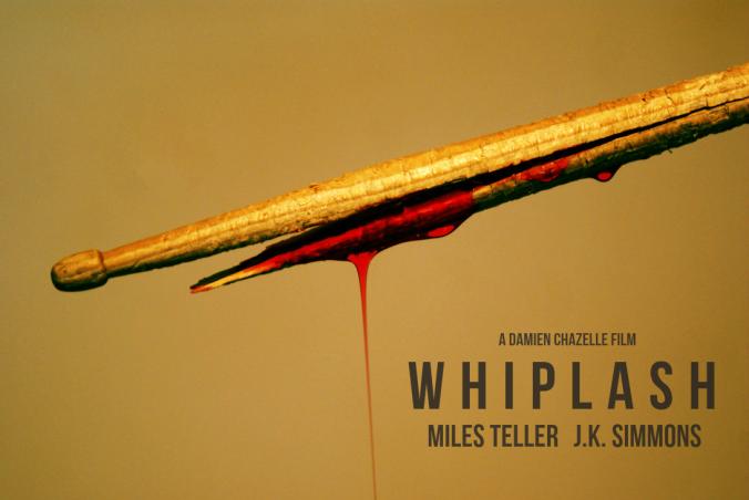 Cartel publicitario de Whiplash. Fuente: Tumblr