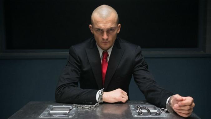 Rupert Friend como Agente 47, obligado a ver su película
