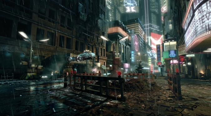 Los Angeles en 2019 según Blade Runner. Foto: Europa Press.