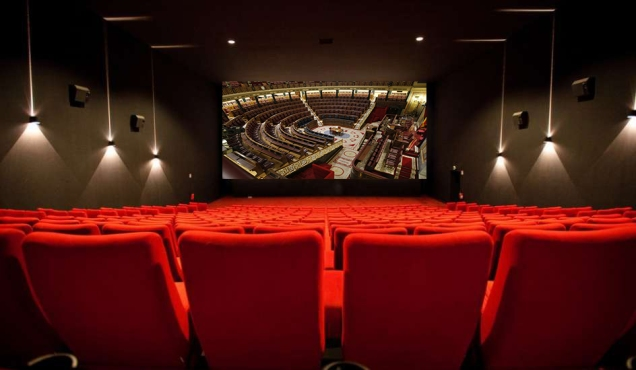 Sala cine congreso