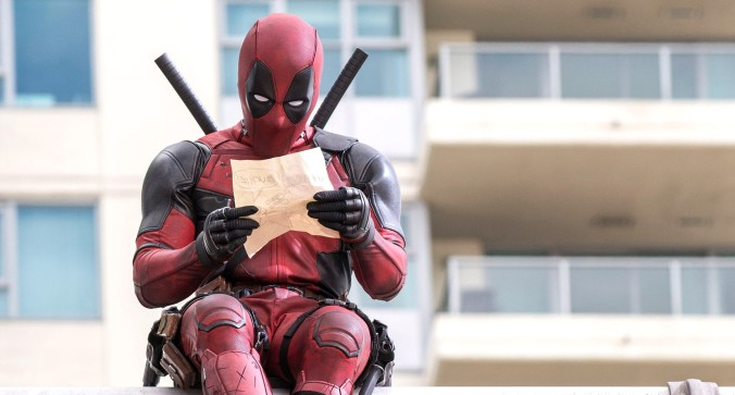 Deadpool leyendo el guion de 'El Renacido'